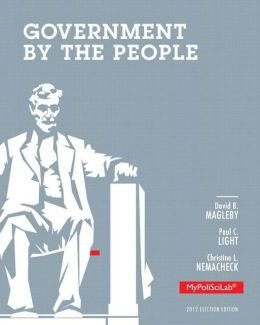 9781269117128: Government By The People 2012 Election Edition