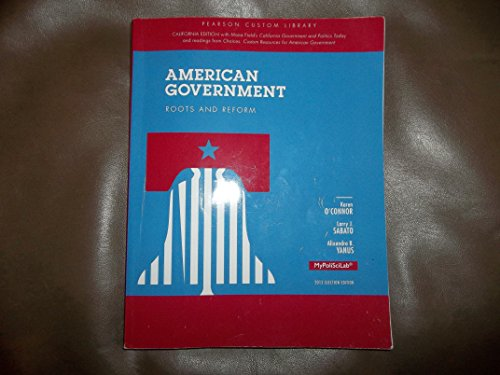 9781269117289: American Government Roots and Reform 2012 Election Edition for Bakersfield College