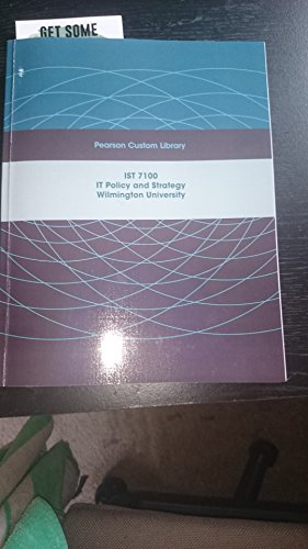 9781269123501: IST7100-IT Policy and strategy-Wilmington University