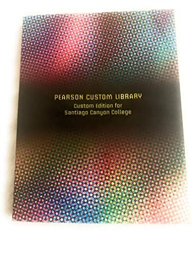 9781269126298: Catalyst: The Pearson Custom Library for Chemistry Santiago Canyon College