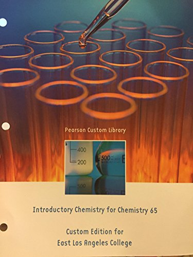 9781269127448: Introductory chemistry for chemistry 65 custom edition for elac