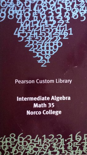 9781269128360: INTERMEDIATE ALGEBRA >CUSTOM<