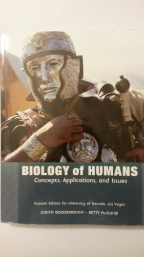 9781269130608: Biology of Humans: Concepts, Applications, and Issues