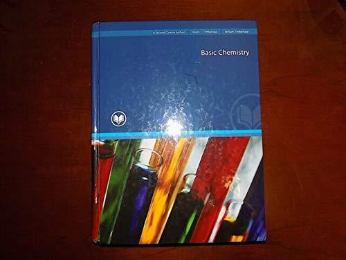 9781269137119: Basic Chemistry [Textbook Binding] [Jan 01, 2005] Karen C. Timberlake/ Willia...
