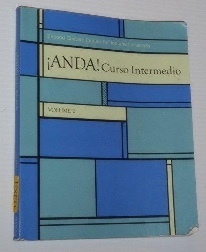 9781269138321: ANDA! CURSO INTERMEDIO,VOL.2 >CUSTOM<