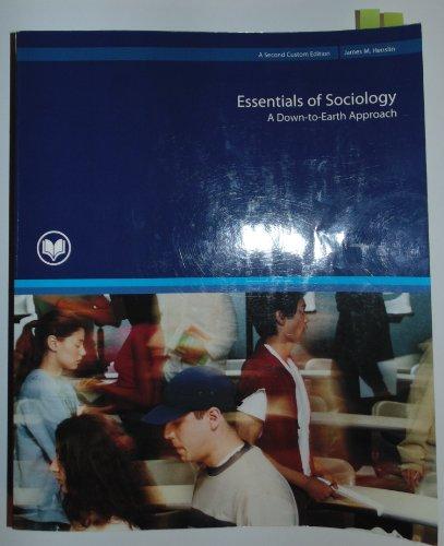 9781269143028: Essentials of Sociology