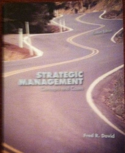 9781269150293: Strategic Management Concepts and Cases (Custom Edition)