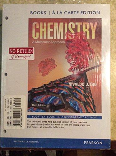 9781269199537: Chemistry: A Molecular Approach (3rd Edition)