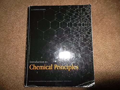 9781269204989: Introduction to Chemical Principles (Second Custom Edition for California State University - Long Beach)