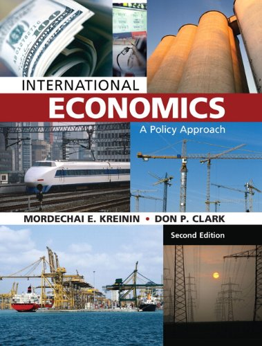 9781269206655: International Economics: A Policy Approach (2nd Edition)