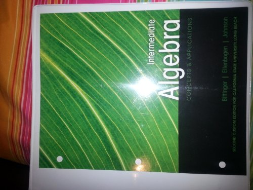 9781269206891: Intermediate Algebra Concepts & Applications