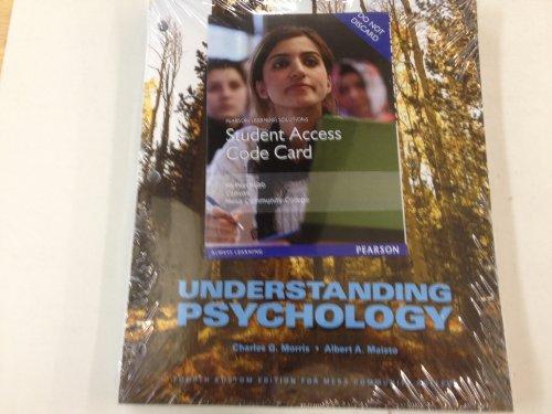 9781269209090: Understanding Psychology Package (Custom Mesa CC) W/MyPsyLab (MCC PSY 101)