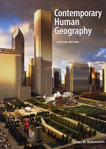 9781269220620: COSS 2013 NATL CONTEMPORARY HUMAN GEOGRAPHY 2013 TXT G10