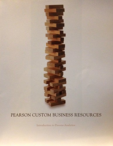 9781269235785: Pearson Custom Business Resources Introduction to Process Analysis