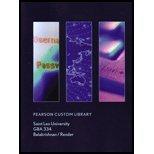 9781269236010: Pearson Custom Library GBA 334