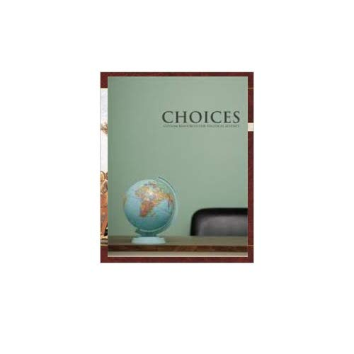 9781269240581: Choices Custom Resources for Political Science