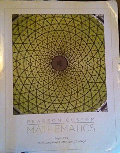 9781269240604: Pearson Custom Mathematics