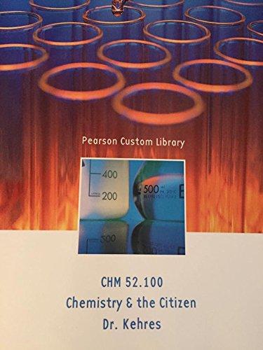 9781269242202: Chemistry the Citizen