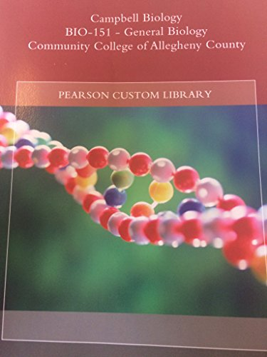 9781269246064: Campbell Biology Bio-151 - General Biology CCAC