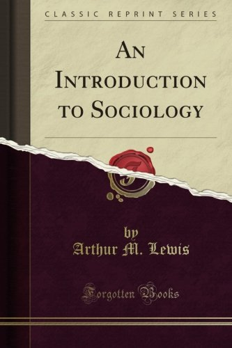 9781269249676: An Introduction to Sociology (Classic Reprint)