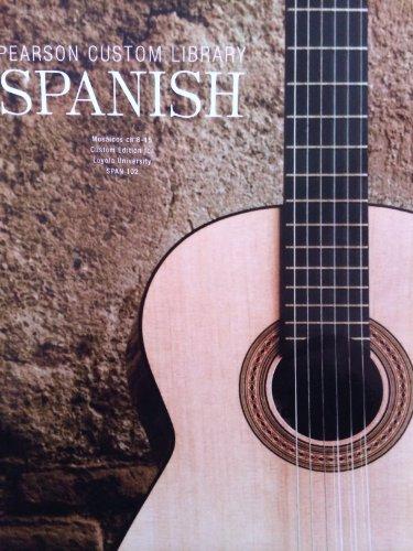 9781269250511: PEARSON CUSTOM LIBRARY-SPANISH >CUSTOM<