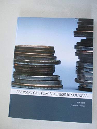 9781269253758: PEARSON CUSTOM BUS.RESOURCES >CUSTOM<