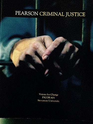 9781269262026: Pearson Criminal Justice Visions for Change FSCOR 601