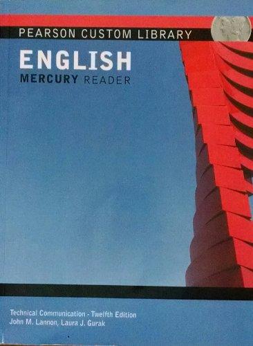 Technical Communication - Twelfth Edition (NAU): John M. Lannon;