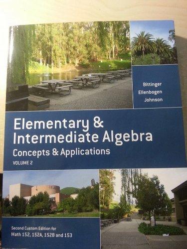 9781269311106: Elementary & Intermediate Algebra
