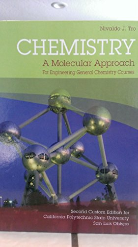 9781269311335: Chemistry A Molecular Approach (Second Custom Edition for California Polytechnic State University San Luis Obispo)