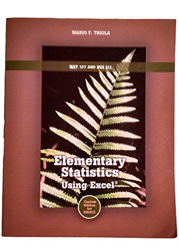 9781269314992: Elementary Statistics
