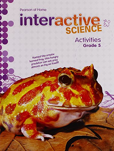 9781269318747: Pearson at Home Interactive Science Activities, Grade 5
