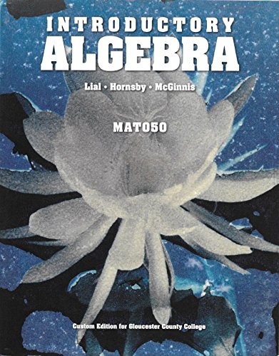 9781269320351: Introductory Algebra MAT 050