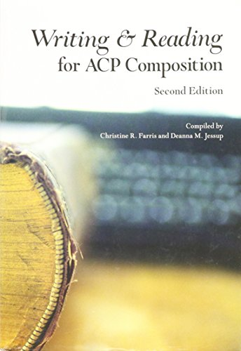 9781269321549: WRITING+READING F/ACP COMPOSIT