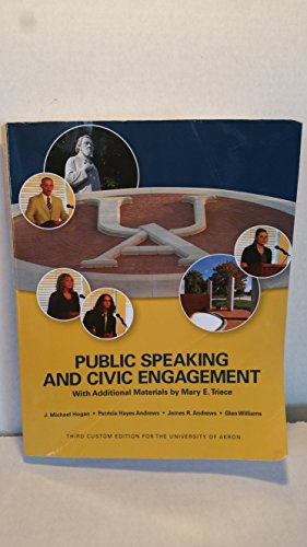 Public Speaking and Civic Engagement with Additional: Glen Williams,James R.