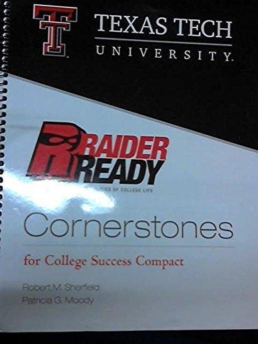 CORNERSTONES:RAIDER READY >CUSTOM<: Moody, Robert M. Sherfield & Patricia G.