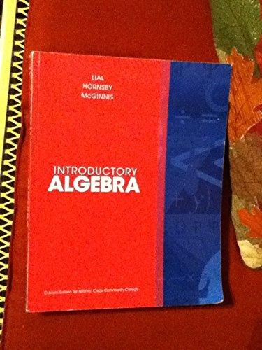 9781269337670: Introductory Algebra, Atlantic Cape Community College