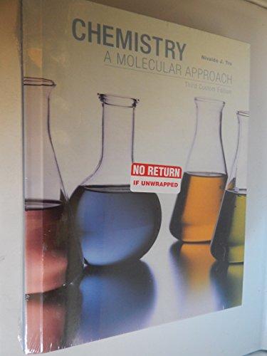 9781269342506: Chemistry A Molecular Approach Third Custom Edition