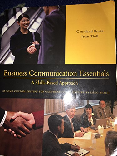9781269343428: Business Communication Essentials CSULB Second Custom Edition