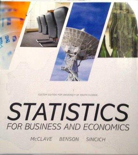 9781269345705: Statistics for Business and Economics