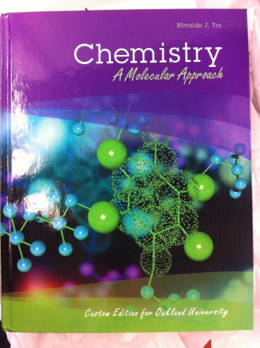 9781269358477: Chemistry A Molecular Approach custom edition for Oakland University