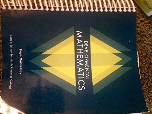 9781269360999: Developmental Mathematics (Custom Edition for North Arkansas College)
