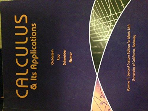 9781269362672: Calculus & Its Applications