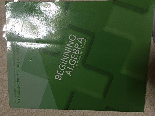 9781269370059: Beginning Algebra MA 025: Accelerated Algebra 11th Edition