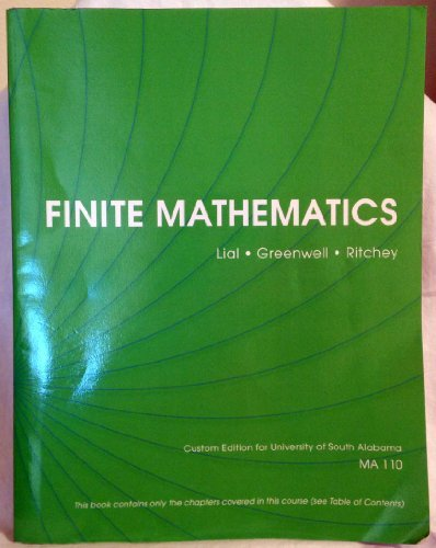 9781269372732: Finite Mathematics