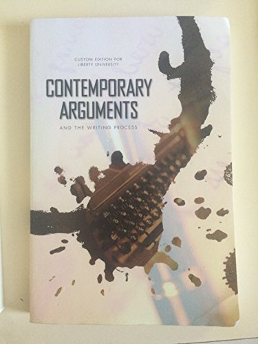 9781269388894: Contemproary Arguments and the Writing Process