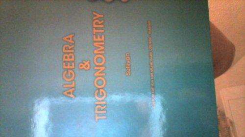 9781269390286: Algebra and Trigonometry (Custom Edition for Miami Dade College-hialeah)