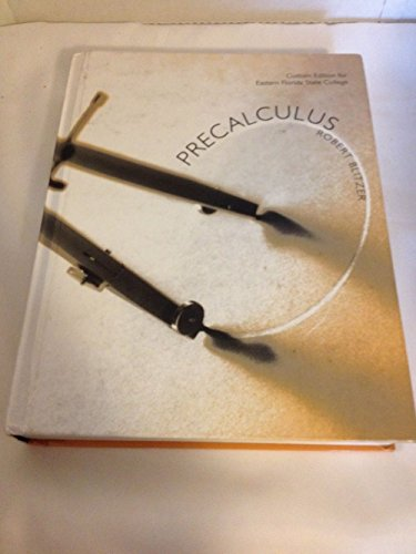 9781269397094: Precalculus - Custom Edition for Eastern Florida State College