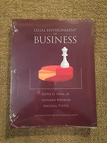 9781269399944: Legal Environment of Business
