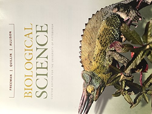 9781269402415: Biological Science, the University of Pittsburgh